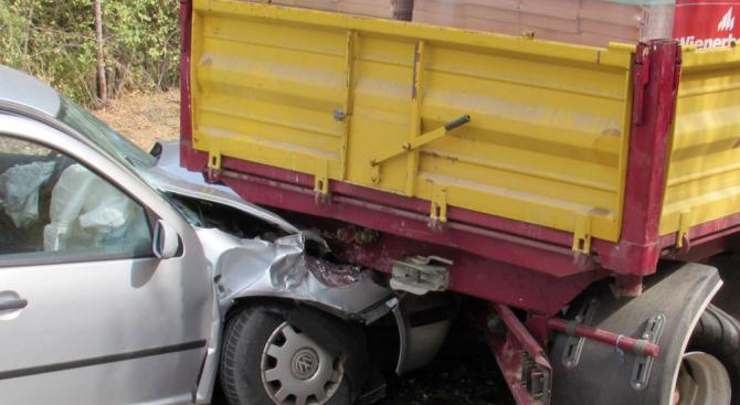 Сигнал за пътен инцидент на пътя Ловеч – Плевен, преди