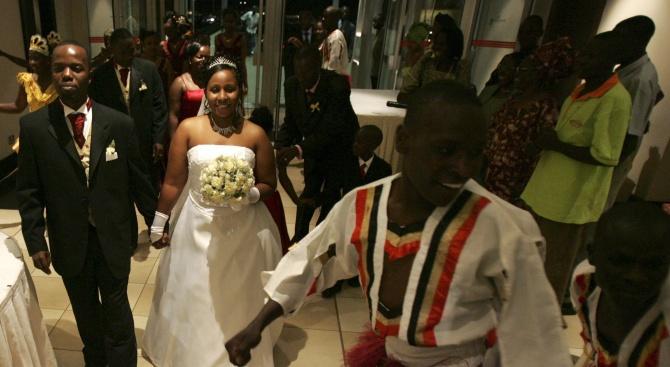 Нито една сватба не е имало през последните четири месеца