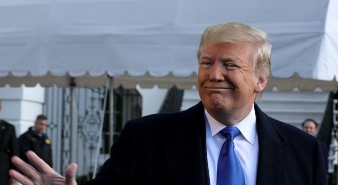 Американският президент Доналд Тръмп заяви, че не се нуждае от