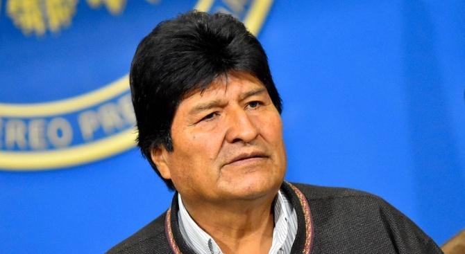 Бившият президент на Боливия Ево Моралес заяви, че ще поиска