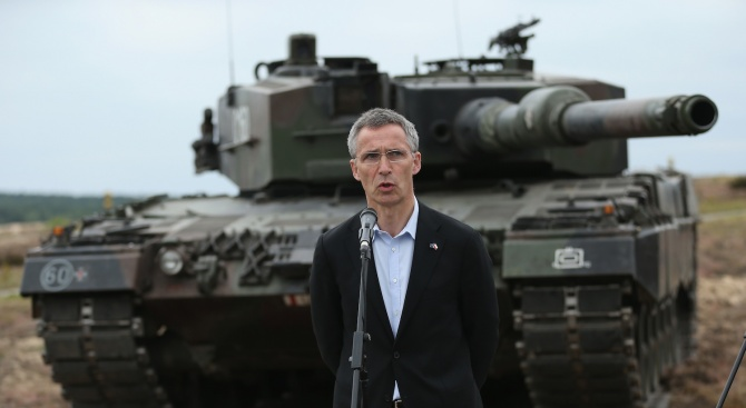 Генералният секретар на НАТО Йенс Столтенберг благодари на американския президент