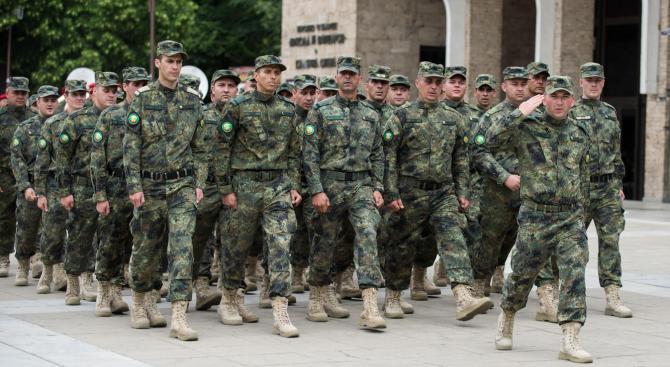 Военните формирования на Сухопътните войски отбелязват своя боен празник с