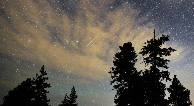 В следващите няколко нощи можем да наблюдаваме звездното шоу на