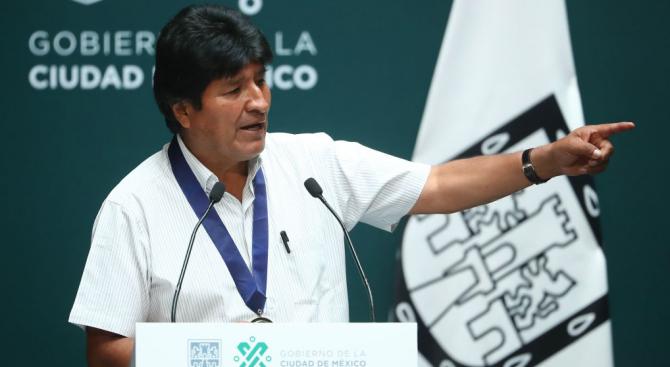 Временната президентка на Боливия Янине Анес каза днес, че отстраненият