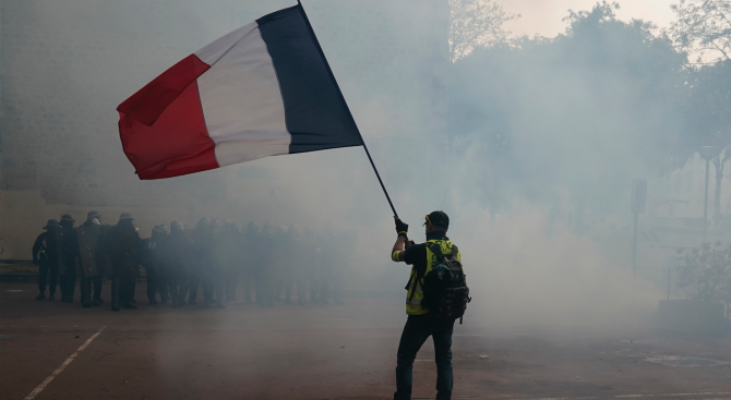 Министерството на вътрешните работи на Франция взема мерки за осигуряване