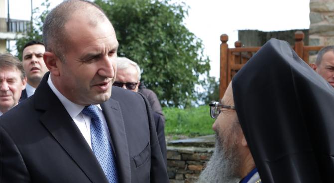Втори ден от посещението на президента Румен Радев в Света