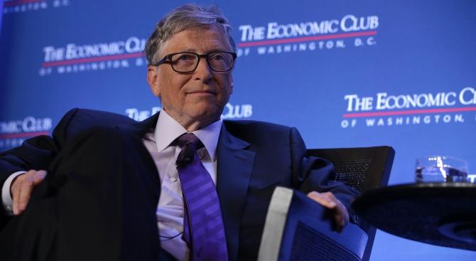 Бил Гейтс изпревари Джеф Безос за първи път от над 2 г. в рейтинг на най-богатите хора в света