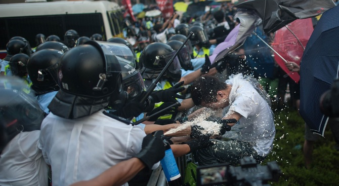 Правителството на Хонконг каза, че не е искало помощта на