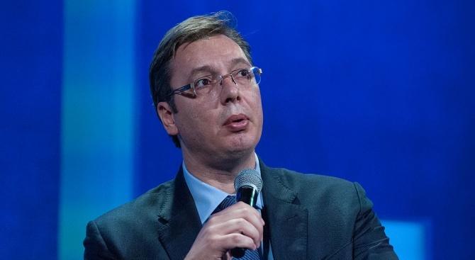 Президентът на Сърбия Александър Вучич има хронични, малки проблеми със