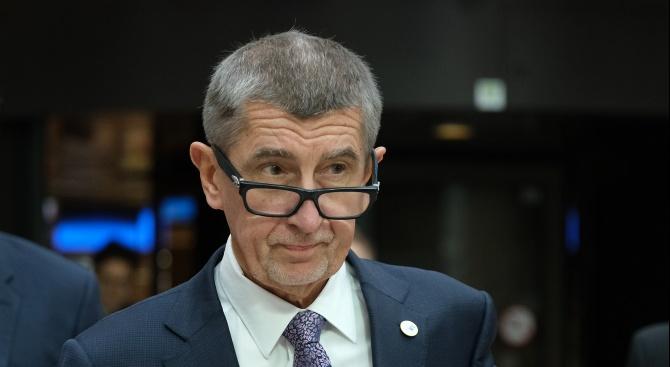 Чешкият премиер, милиардерът Андрей Бабиш, чиито позиции са отслабени от