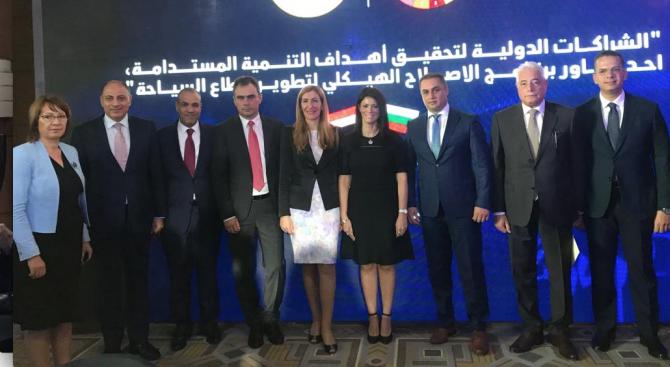 Министърът на туризма на Египет: България може да е пример в управлението и нарастването на различни туристически продукти