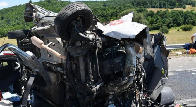 В Сливенска област най-много катастрофи са причинени по вина на