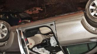 20-годишна катастрофира на пътя между селата Овен и Руйно