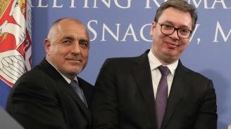 Борисов: С Вучич работим по идеята балканските държави да уеднаквят толсистемите си