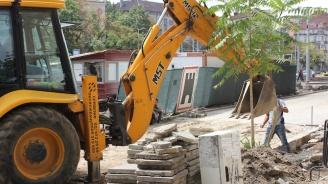 """Заради ремонт на ВиК, от утре затварят за две седмици част от ул. """"Гурко"""" в Бургас"""