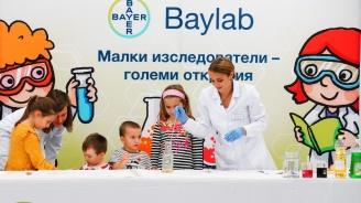 """Над 1600 ученици посетиха Научната лаборатория на Байер за деца """"Байлаб"""""""