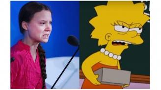 The Simpsons предрекоха Грета