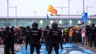 Протестиращи каталунци затвориха ГКПП Жонкера на границата между Испания и Франция