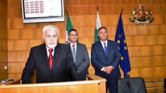 Новоизбраният кмет на Разград Денчо Бояджиев положи клетва
