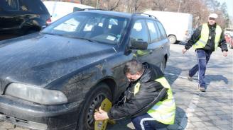 Арестуват над 400 коли на ден в София