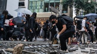 Нови улични сблъсъци в Хонконг