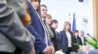 Йорданка Фандъкова и новите общинари положиха клетва