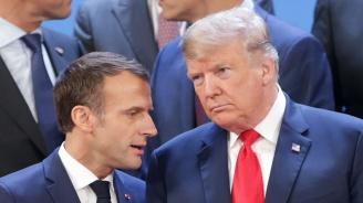 Макрон и Тръмп ще разговарят преди срещата на върха на НАТО през декември