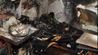 Дядо загина при пожар в село Челюстница