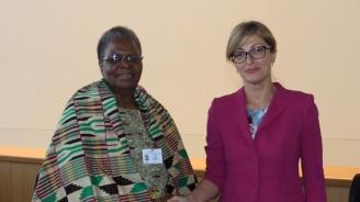 Започна официалното посещение на  вицепремиера Екатерина Захариева в Република Намибия