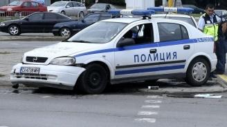 Патрулка катастрофира в София