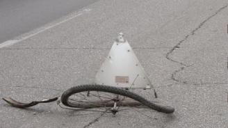 "Пиян велосипедист се удари в ""Мерцедес"""