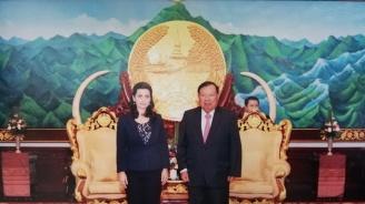 Маринела Петкова заздравява връзките с Виетнам