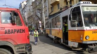 Жената, блъсната от трамвай в София, е без опасност за живота
