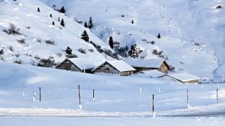 Първият сняг в алпийските части на Австрия прекъсна електричеството на близо 10 хиляди домакинства