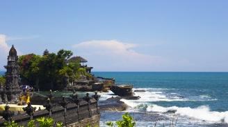 Земетресение до остров Бали