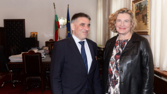Данаил Кирилов се срещна с новия посланик на Франция