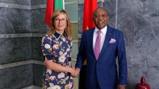 Външният министър на Ангола пред Екатерина Захариева: Разчитаме на премиера Борисов и на вас България да стане нашата врата към ЕС