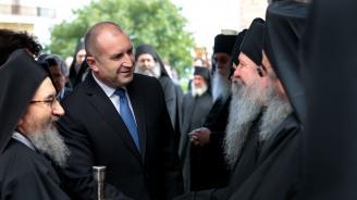 Румен Радев: Света гора векове наред има своето благотворно влияние в православната общност