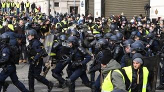 На жълтите жилетки се забранява достъпът до Шан-з-Елизе утре