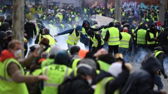 """Движението на """"жълтите жилетки"""" отбелязва първата си годишнина"""