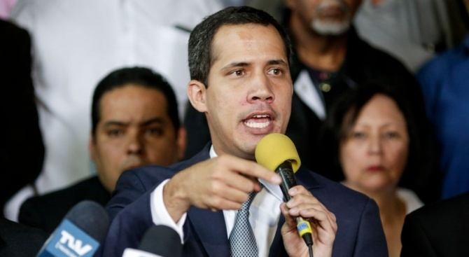 Лидерът на венецуелската позиция Хуан Гуайдо заяви, че изключва възможността