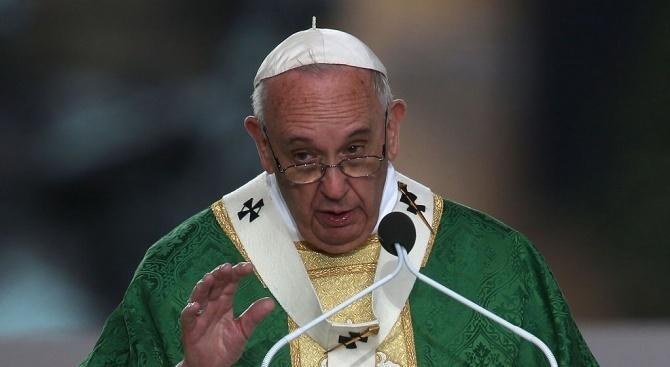 Папа Франциск заминава на посещения в Азия и има както