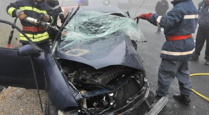 Катастрофа с ранени е станала в прохода Петрохан. Това съобщиха