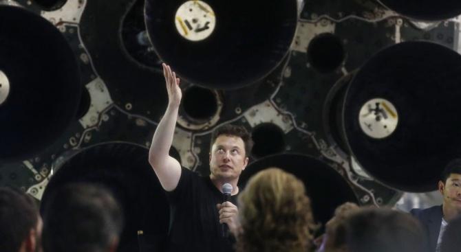 Изпълнителният директор на компанията за космическа технология SpaceX Илон Мъск