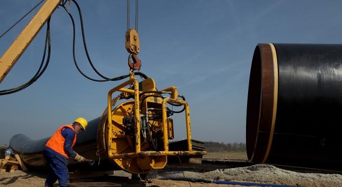 """Руската държавна фирма """"Газпром"""" е изпратила до украинската компания """"Нафтогаз"""""""