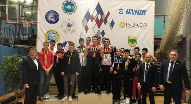 """Осем медала за Таекуондо клуб """"Хоук-Банско"""" на Словения Оупън 2019 г."""