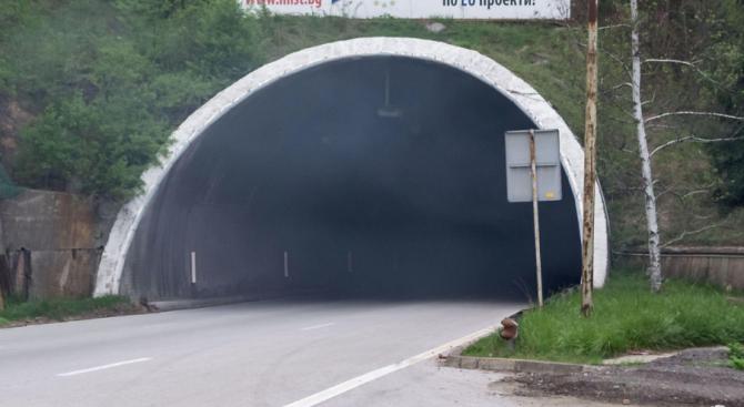 """Водачите да шофират с повишено внимание през тунел """"Витиня"""" ,"""