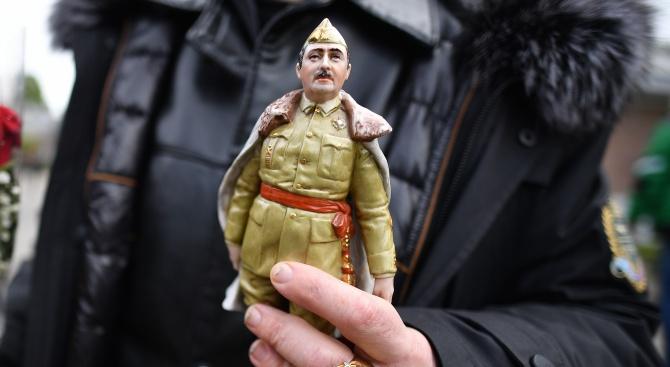 Разкриха завещанието на Франсиско Франко