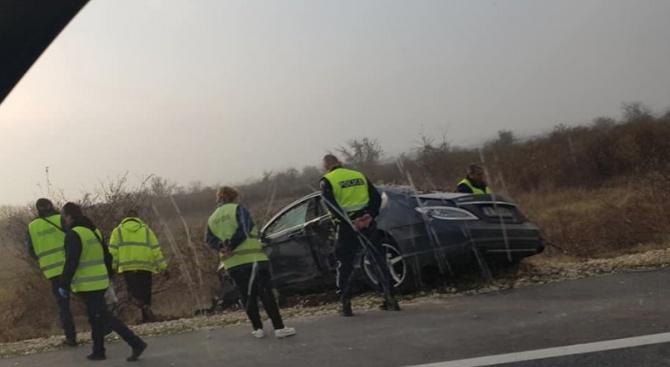 """Двама мъже са загинали при пътно-транспортно произшествие на АМ """"Хемус"""","""