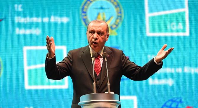 Ердоган разкри сирийците или петролът е от значение за Турция